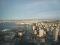 横浜を見下ろす