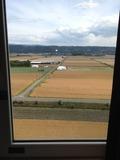 部屋の窓からの眺望です。