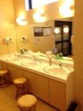 大浴場の洗面