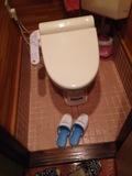 トイレのスリッパ