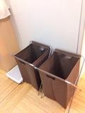 露天風呂ゴミ箱
