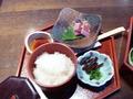 和食膳です。