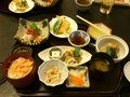 和食処で食べた夕飯