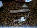 ルームキーと金庫の鍵