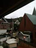 大浦天主堂への坂の脇にあるホテル