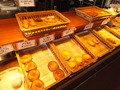 朝食バイキング、惣菜パンの種類が豊富