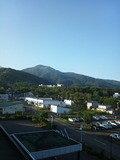 ホテルからの眺め(快晴)