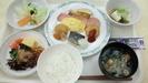 朝食ビュッフェ①