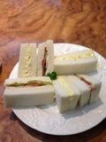 朝食サンドイッチにしました!