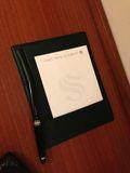ホテルメモ帳です