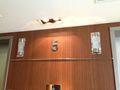 5F エレベーター前です。