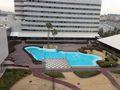 ホテルから 見た、噴水写真です。