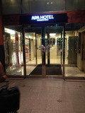 ホテル入り口です。