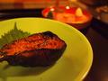 夕食:茄子田楽