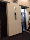 1F エレベーターは2個所です!
