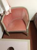 夕食を食べる椅子です。