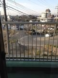 朝食会場からの景色写真です。