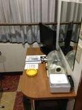 部屋 机 写真です。