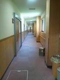 部屋の廊下