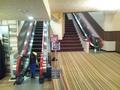 客室への階段