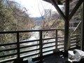 「牧水の湯」露天風呂からの眺め