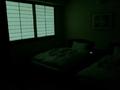 消灯後の部屋