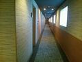 西館客室廊下