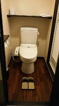 ウォシュレットです、部屋のトイレ