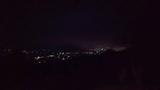 「遠見の湯」露天風呂からの夜景