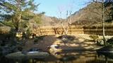 蛍あかりの湯からの昼間の眺め