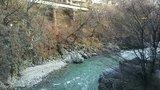 「翆渓の湯」からの眺め