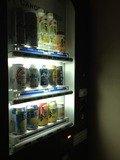 アルコール自販機は8Fにあります。