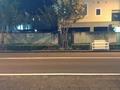 ホテル前の写真です。
