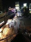ホテル方面から見た 尼崎駅への写真です。