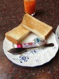 朝食写真です。