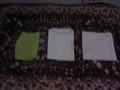 きれいにタオルと浴衣が畳まれてました。