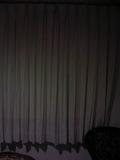 カーテンもきれいでした。