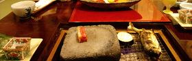 石焼ステーキ