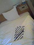 ベッドは標準的です