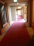 客室フロア廊下