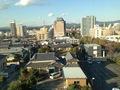掛川駅方面の眺め
