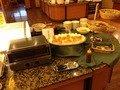 朝食バイキング オーブントースター