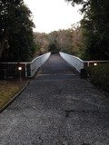 宿泊棟への連絡橋