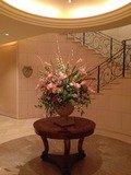 グランドエクシブ ホールの生花
