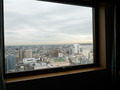 窓からのパノラマ景色