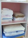 タオルがいっぱい