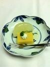 和梨のコンポートとマンゴープリン