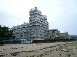 写真クチコミ:海から見たホテル