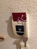 電源キー差し込み