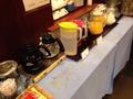 朝食バイキングドリンクコーナー
